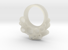 Cumulus Cloud Ring in Transparent Acrylic