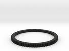 gear ring in Black Strong & Flexible