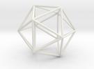 Icosahedron in Transparent Acrylic