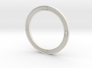 subwoofer ring hol en open in White Strong & Flexible