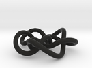 Prime Knot 8.16 in Black Strong & Flexible