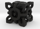 Complex Cube 3cm in Black Strong & Flexible