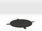 Fan Grill 120mm in Black Strong & Flexible