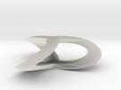 Shamrock Pendant in Transparent Acrylic