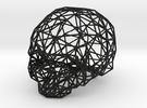 Skull Wireframe in Black Strong & Flexible