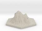 Catan_volcano_hex in Sandstone