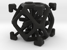 Complex 2-7 cube in Black Strong & Flexible