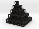 021: Square Tower hollowed out in Black Strong & Flexible