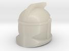 P1 CW Helmet in White Acrylic