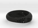 anel detalhe olho in Black Strong & Flexible