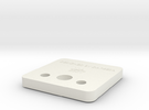 Customized Adaptor Cover in White Strong & Flexible