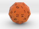 Bright Orange d60 in Full Color Sandstone