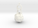 LED Pendant Ornament in White Strong & Flexible Polished