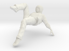 Male dancer in White Strong & Flexible