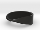 mobius ring in Black Strong & Flexible
