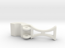 safety clip 9-13-10 B.STL in White Strong & Flexible