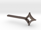 Star Key in Stainless Steel