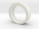 Split Ring in White Strong & Flexible