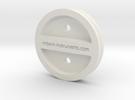 XRD Sample Holder for Glass Petrographic Slides 2 in White Strong & Flexible