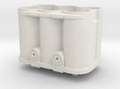 1/8 scale battery 1 in White Strong & Flexible