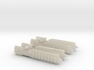 Fleet Scale Series 1: Terran Heavy Cruiser in White Acrylic