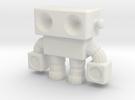 Robot 0014 in White Strong & Flexible