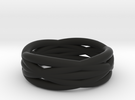 Infinity ring in Black Strong & Flexible