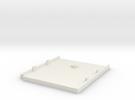 Gameboy Cartridge Bottom in White Strong & Flexible