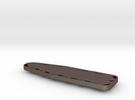 Backboard Keychain in Stainless Steel