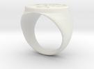 Agent Orange Ring (18,53) Larfleeze Variant in White Strong & Flexible