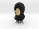 7cm Black Hoodie in Full Color Sandstone