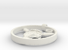Bison Skull Charm in White Strong & Flexible