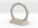 Gate Game Token (4cm) in Sandstone