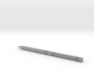 Test Pencil II in Metallic Plastic