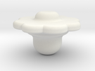 FlowerHead1 in White Strong & Flexible