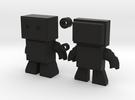 Robot Snap Kit Model in Black Strong & Flexible