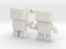 Robot Snap Kit Model in White Strong & Flexible