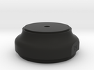 WAX Pot Lid 2 of 2 in Black Strong & Flexible