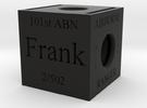 Veteran Box in Black Strong & Flexible