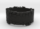 rock ring in Black Strong & Flexible