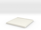 Square Model Base 45mm in White Strong & Flexible