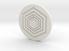Ball Marker in White Strong & Flexible