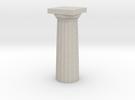 Parthenon Column Top (Hollow) 1:200 in Sandstone