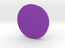 Circle - 2 in Purple Strong & Flexible Polished