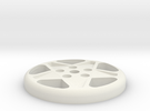 BUTTON CROMODORA WHEEL 328 in White Strong & Flexible
