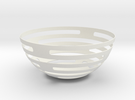 Fruitbowl in White Strong & Flexible