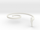 mold part, top,  vehicle spring, 3.0 mm in White Strong & Flexible