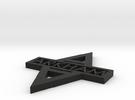 Arkham Logo single sided in Black Strong & Flexible