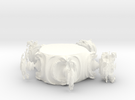 Juliabulb-transpoly-doorsnede in White Strong & Flexible Polished