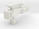 Classics pistol model two in White Strong & Flexible